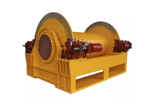 Электрическая лебедка с тяговым усилием 600кН IDJ699-600-1000-44