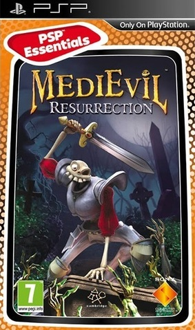MediEvil Resurrection (PSP, русская версия, б/у)