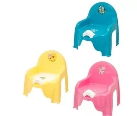 Горшок-стульчик детский с крышкой цвет темно-розовый, Idea