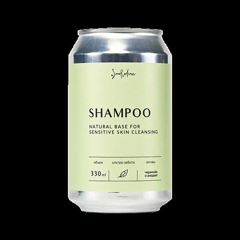 Шампунь для Чувствительной кожи головы SmoRodina, 330 мл