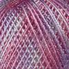 Пряжа YarnArt Tulip 458 (Белый, розовый, сиреневый)