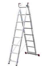 Двухсекционная универсальная лестница 2х11