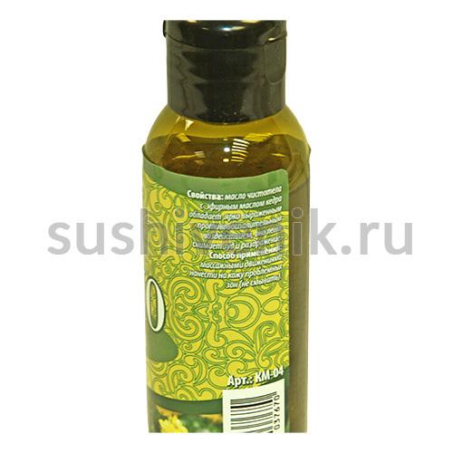 Массажное масло чистотела