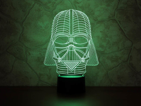 3D ночник Дарт Вейдер