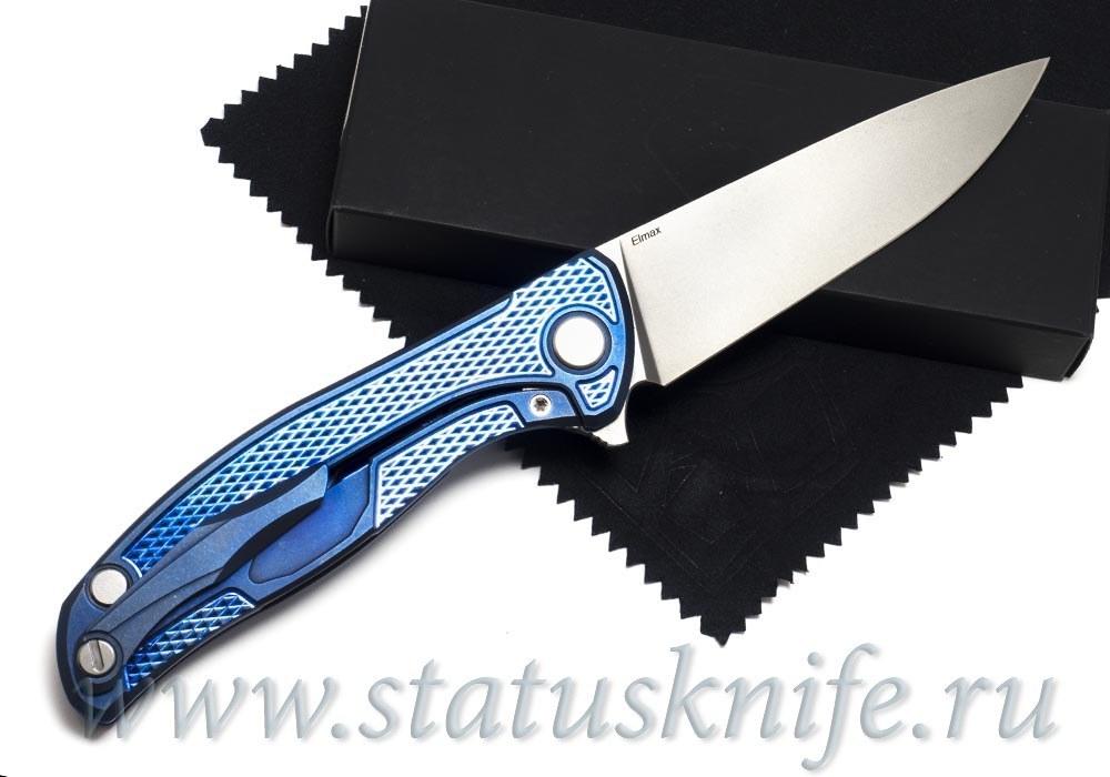 Нож Широгоров Андреевский флаг Кастом Elmax - фотография