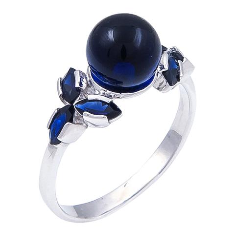 Кольцо с сапфиром Арт.1074кс