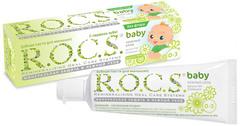 """Зубная паста """"ROCS"""" для малышей Душистая ромашка 45г"""