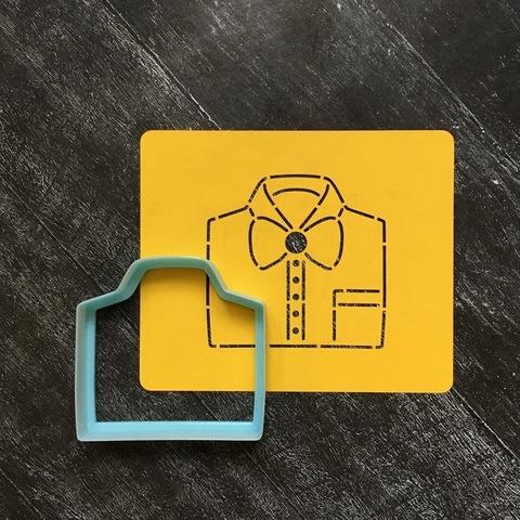 Рубашка №2 с галстуком-бабочкой