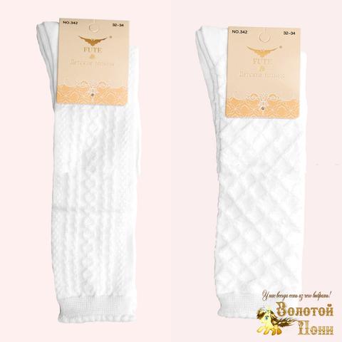 Гольфы белые хлопок девочке (18-22) 200302-F342