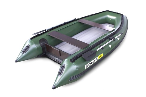 Надувная ПВХ-лодка Солар Максима - 350 (зеленый)