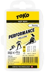 Парафин Toko Performance 40 g yellow, 10°/-4°