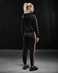 Женская  толстовка Olimp Tracksuit Top Gold Series Black