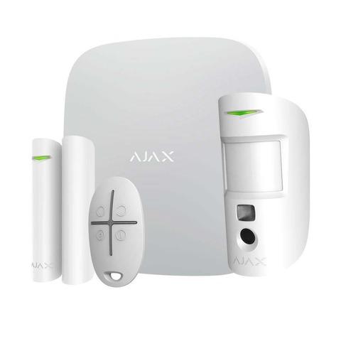 AJAX Hub Kit Cam Plus белый комплект