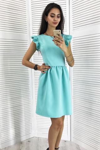 Паула. Красива молодіжна сукня. М'ята