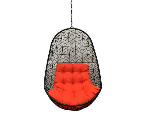 Подвесное кресло Изи усиленное черное