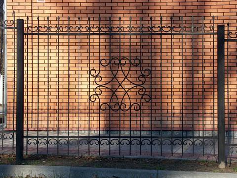 Кованый забор N-10