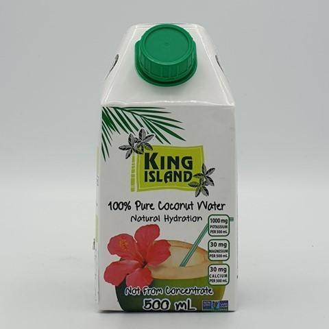 Кокосовая вода без сахара KING ISLAND