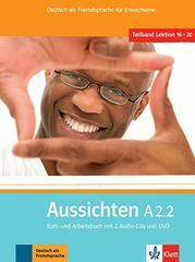 Aussichten A2.2 Kurs- und Arbeitsbuch mit 2 Aud...
