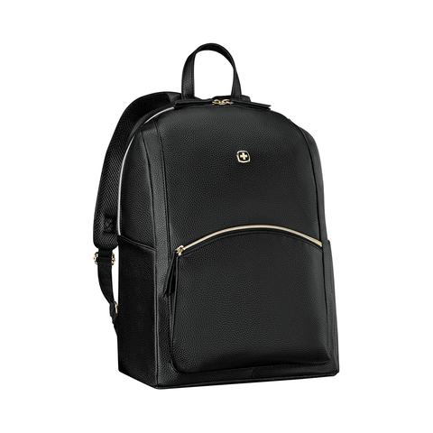 Женский городской рюкзак чёрный (18л) LeaMarie WENGER 610190