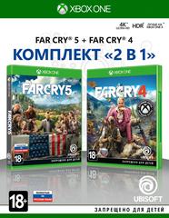 Far Cry 4 + Far Cry 5 Комплект (Xbox One/Series X, русская версия)