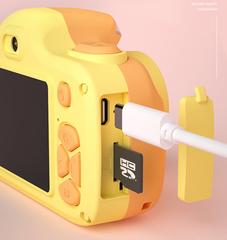 Фотоаппарат детский с вспышкой SmileZoom Жираф 24 Мп порт
