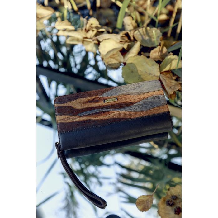 Портмоне «Фьорды». Цвет коричневый