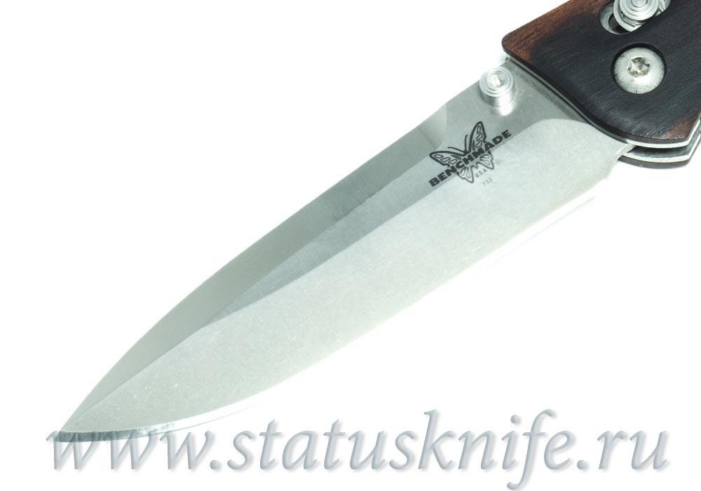 Нож Benchmade 733-02 Ares Wood Prototype - фотография