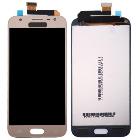 LCD SAMSUNG J3 (2017) J330 + Touch Gold Orig MOQ:5