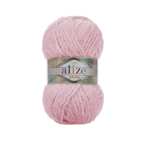 Купить Пряжа Alize Softy Plus Цвет 31 Нежно-розовый   Интернет-магазин пряжи «Пряха»