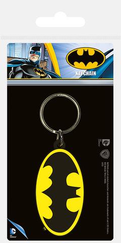 Брелок силиконовый Бэтмен Ретро Лого