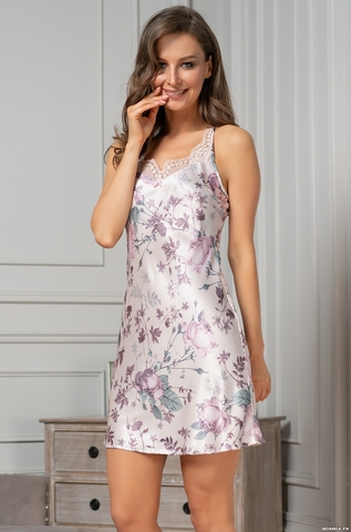 Короткая сорочка Mia Amore Миракли (70% шелк)