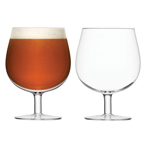 Набор из 2 бокалов для пива на ножке Bar LSA International, 550 мл
