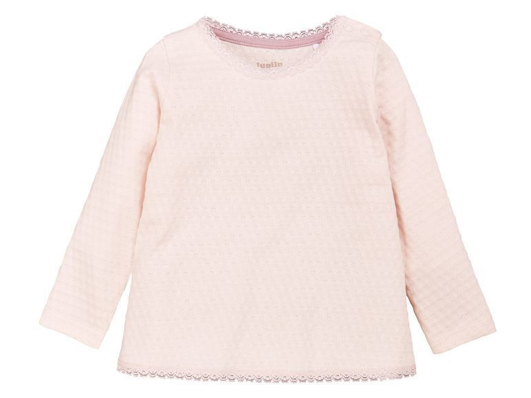 Джемпер для девочки (розовый) Lupilu