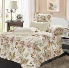Сатиновое постельное бельё  2 спальное  В-156