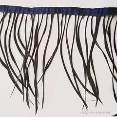 Тесьма  из тонких перьев гуся биот h-15-20 см.,  (выбрать цвет)