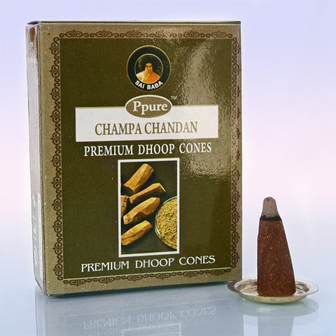 Благовония Конусы Ppure Chandan Сандал