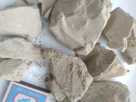 Узбекская Розовая соленая нечищенная глина