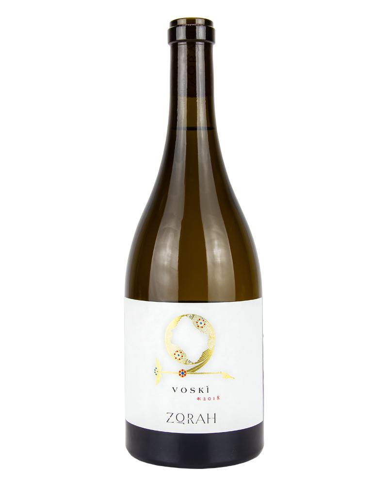 Вино Zorah Воски Белое Сухое 2018 г.у. 13,5% 0,75л.