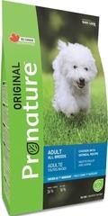 Корм для взрослых собак всех пород, Pronature Original DOG ADULT ALL BREEDS, с курицей и овсом