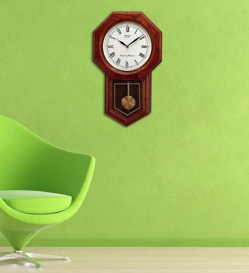 Настенные часы Seiko QXH102BN