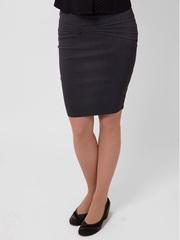 6619 юбка черная