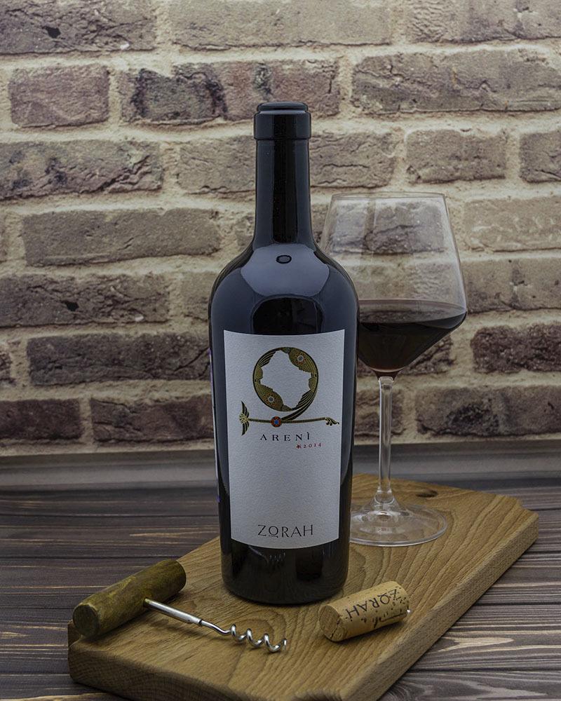 Вино Zorah Арени Красное Сухое 2014 г.у. 13,5% 0,75 л.