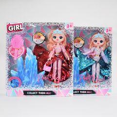 Кукла в шаре зимняя серия + свет
