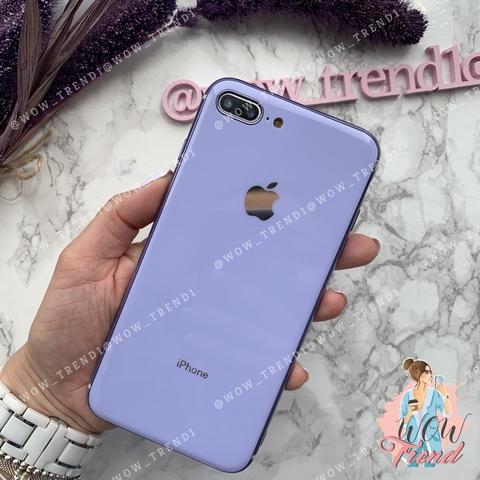 Чехол iPhone 7/8 Plus Glass Silicone Case Logo /glycine/