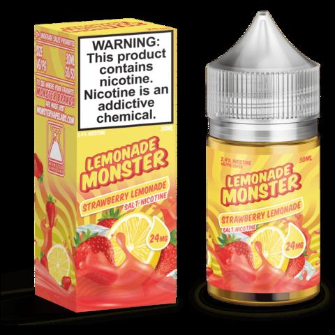 Жидкость Lemonade Monster Salt 30 мл Strawberry Lemonade