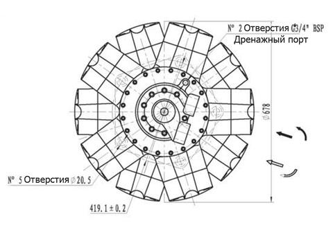 Гидромотор IPM10-8000
