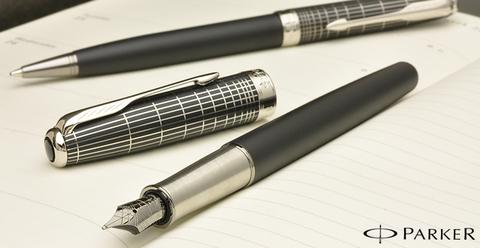 Перьевая ручка Sonnet Special Edition Contort Black Cisele123