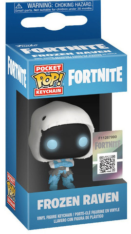 Брелок Funko POP! Keychain Frozen Raven (Fortnite)