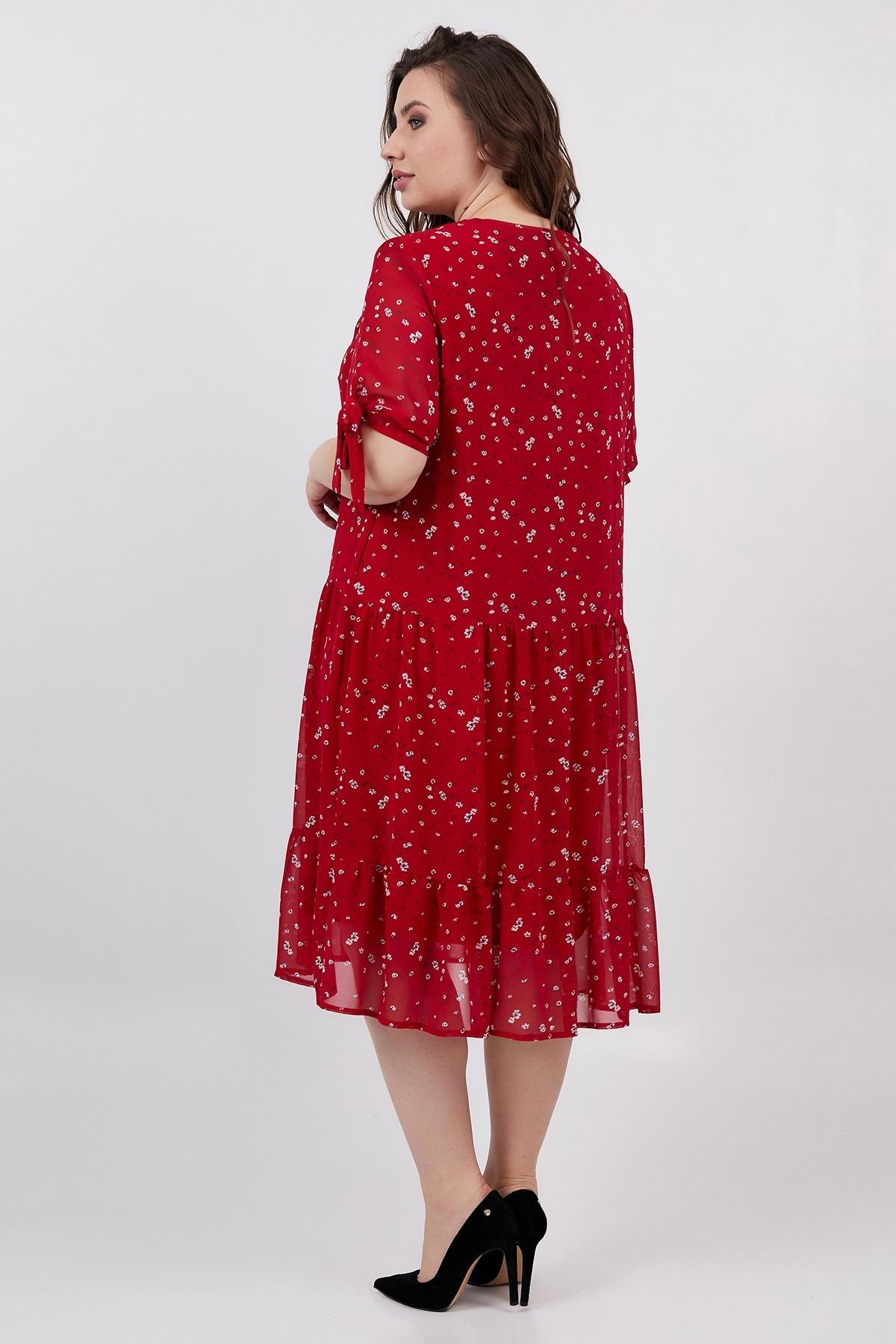 Платье Мона (красный)