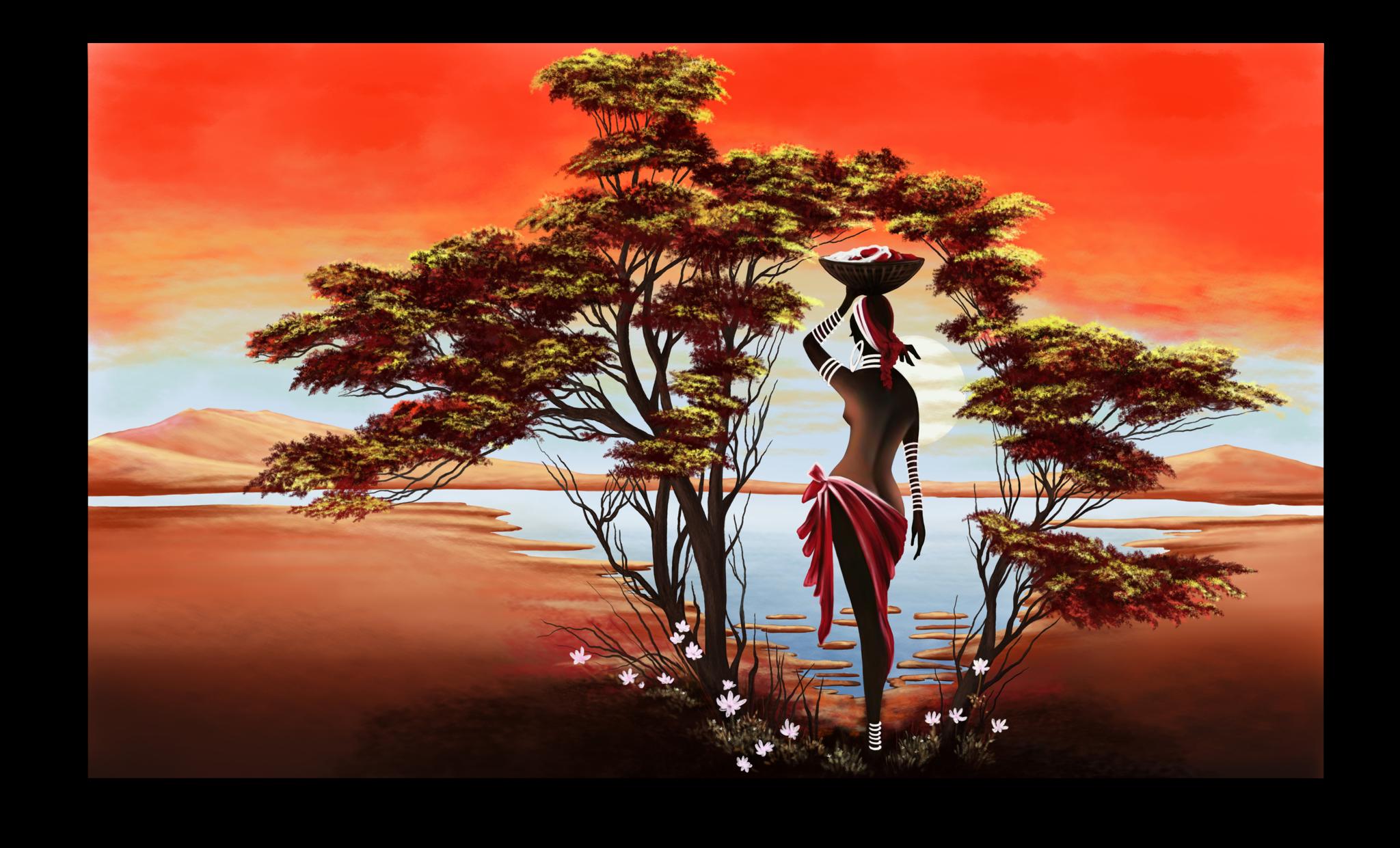 """Люди Постер """"Экзотическая Африка"""" п4.png"""